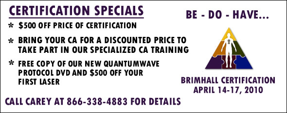 Brimhall Seminars Certification