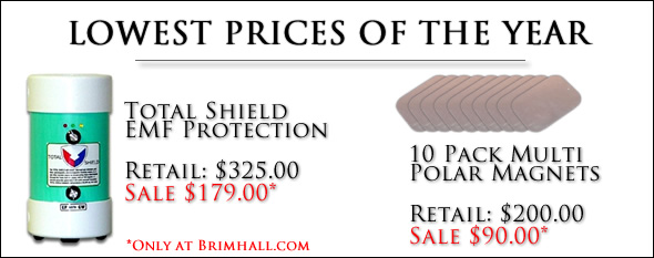 Lowest Prices of the Year Total Shield $179 and Magnets $90
